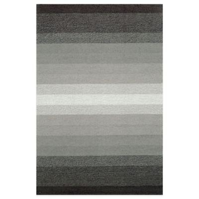 Trans-Ocean Ravella Ombre 8-Foot 3-Inch x 11-Foot 6-Inch Indoor/Outdoor Area Rug in Grey