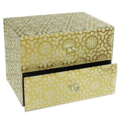 Gold Jewelry Storage Boxes