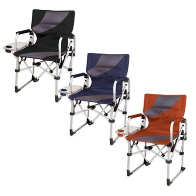Picnic Time® Meta Chair in Navy/Grey