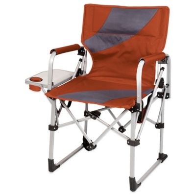 Picnic Time® Meta Chair in Burnt Orange/Grey