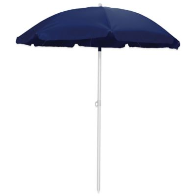 Picnic Time® 5-Foot 6-Inch Beach Umbrella in Navy