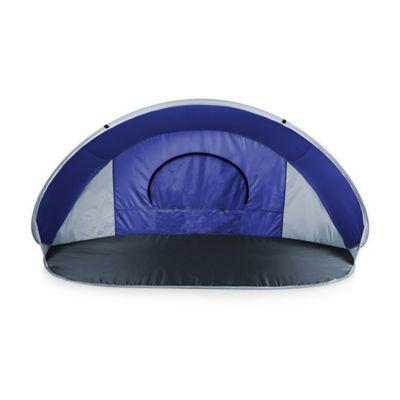 Picnic Time® Manta Sun Shelter in Blue/Grey/Silver
