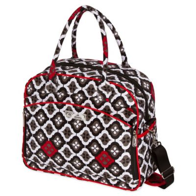 The Bumble Collection® Dana Daytripper Bag in Royal Ruby Montage