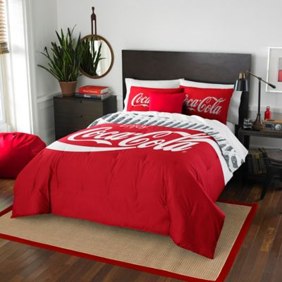 Coca-Cola® Bottles Twin/Full Comforter Set in Multi