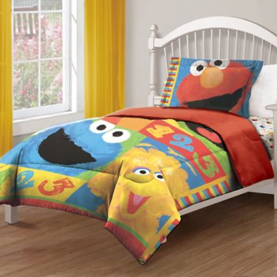 Sesame Street® Big Chalk Fun Twin Comforter
