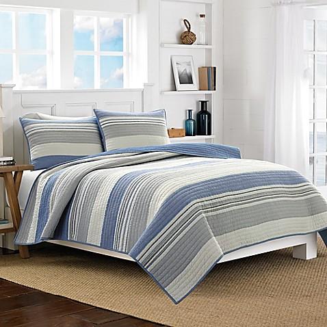 Nautica 174 Mondrian Quilt In Blue Bed Bath Amp Beyond
