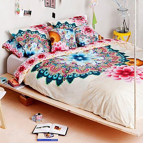 buy desigual mandala reversible full queen duvet cover in multi from bed bath beyond. Black Bedroom Furniture Sets. Home Design Ideas