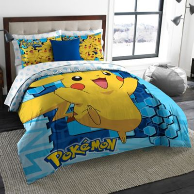 Pokemon Big Pika 3-Piece Comforter Set in Multi