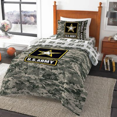 U.S. Army Camo Comforter in Multi