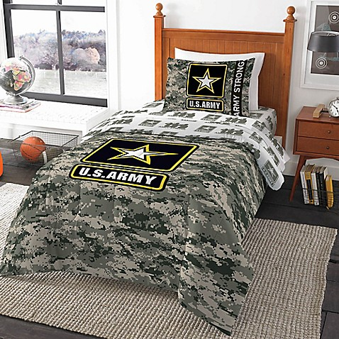 U S Army Camo Comforter Bed Bath Amp Beyond