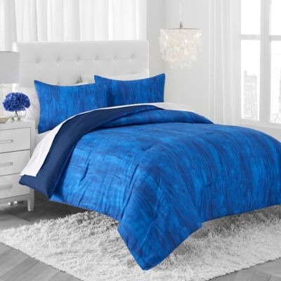 Amy Sia Lucid Dreams Twin Comforter Set in Indigo
