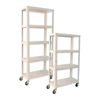 Studio 3B™ 4-Tier Metal Shelving in White