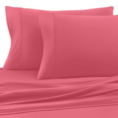 SHEEX® Active Comfort Queen Sheet Set in Coral