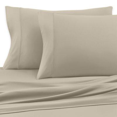 SHEEX® Active Comfort Queen Sheet Set in Taupe