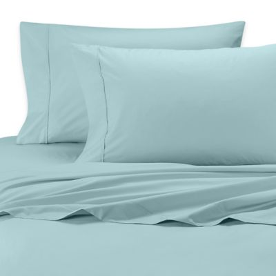 SHEEX® Rayon Made from Bamboo Standard Pillowcases in Aqua (Set of 2)