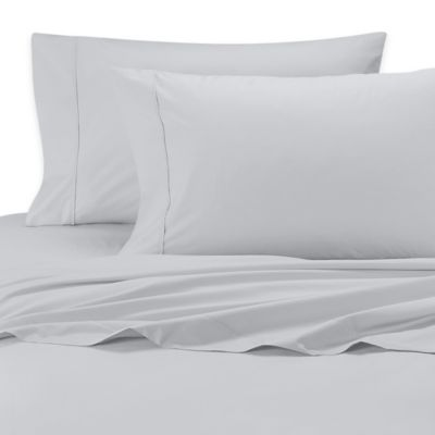 SHEEX® Iced Cotton Performance Queen Sheet Set in Silver