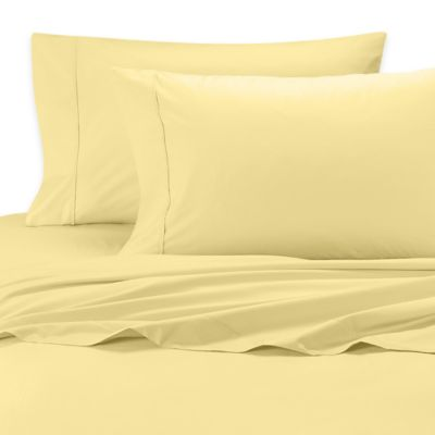 SHEEX® Iced Cotton Performance Queen Sheet Set in Yellow