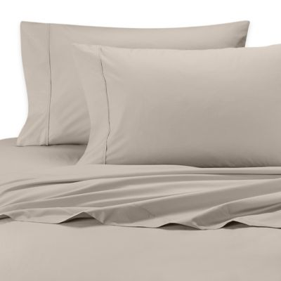 SHEEX® Iced Cotton Performance Queen Sheet Set in Taupe