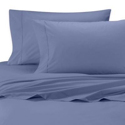 SHEEX® Iced Cotton Performance King Sheet Set in Denim