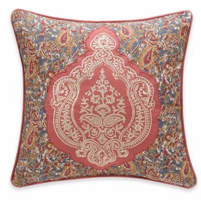 Delphine Square Throw Pillow
