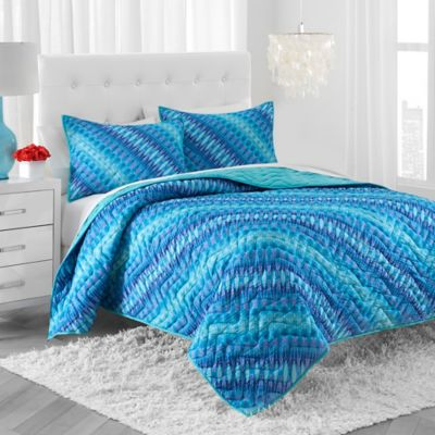Amy Sia® Utopia Twin Quilt Set in Aqua