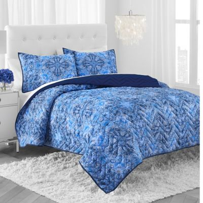 Amy Sia® Arcadia Quilt Set in Indigo