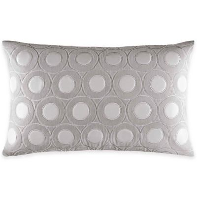 Catherine Malandrino Metro Mya Oblong Throw Pillow in Ivory