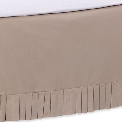 Khaki Bed Skirt