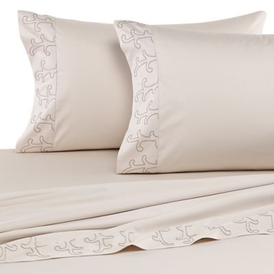 upstairs by Dransfield & Ross Blairsden Queen Sheet Set