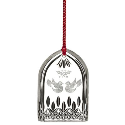 Waterford® 12 Days of Christmas 2015 Lismore 2 Turtle Doves Ornament