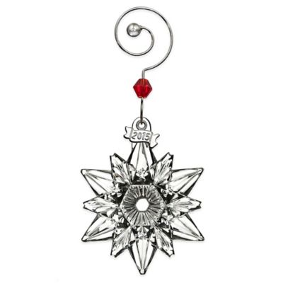 Waterford® 2015 Annual Mini Snowflake Ornament