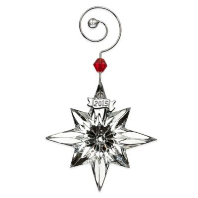 Waterford® 2015 Annual Mini Star Ornament