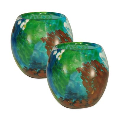 Dale Tiffany™ Pacifica Votive Holders (Set of 2)