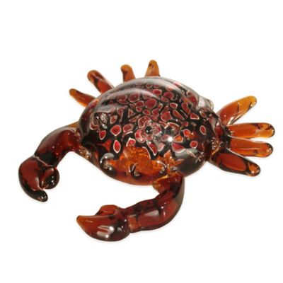 Dale Tiffany™ Crab Art Glass Figurine