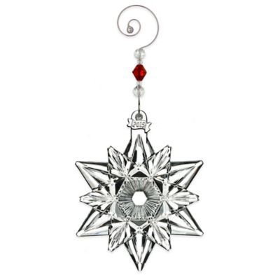 Waterford® 2015 Annual Snow Crystal Pierced Ornament