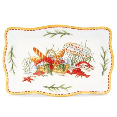 Fitz and Floyd® Clam Bake Rectangular Platter