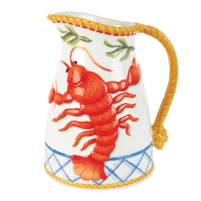 Fitz and Floyd® Clam Bake Pitcher