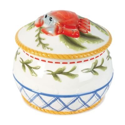 Fitz and Floyd® Clam Bake Lidded Bowl