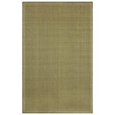Liora Manne Terrace Texture 3-Foot 3-Inch x 4-Foot 11-Inch Indoor/Outdoor Area Rug in Green