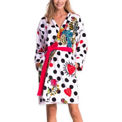 Desigual® Polka Dot Medium Bath Robe