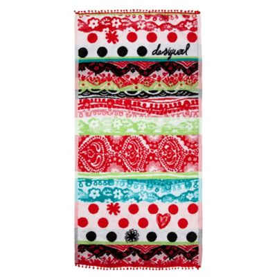 Desigual® Polka Dot Hand Towel in Multi
