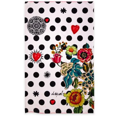 Desigual® Polka Dot Bath Towel in Multi