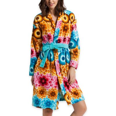 Desigual Mandala Medium Bath Robe in Multi