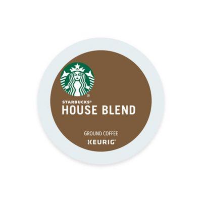 K-Cup® 16-Count Starbucks® House Blend Medium Roast Coffee for Keurig® Brewers