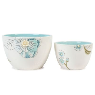 Edie Rose By Rachel Bilson Bloom All Purpose Bowls (Set of 2)