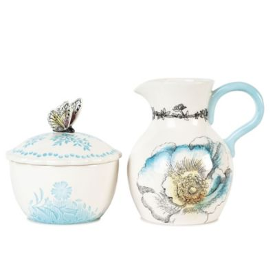 Edie Rose By Rachel Bilson Bloom Sugar and Creamer Set