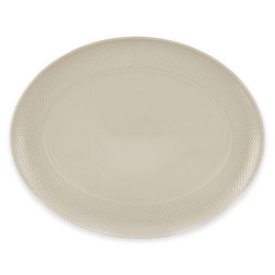 Lenox® Largo Oval Platter in Sand