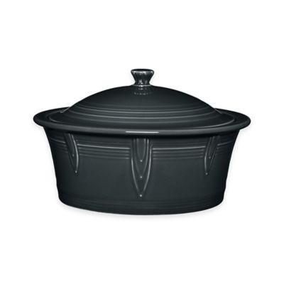 Fiesta® 90 oz. Covered Casserole Dish in Slate