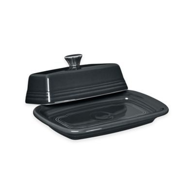 Fiesta® Extra-Large Covered Butter Dish in Slate