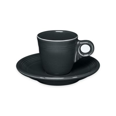 Fiesta® Demitasse Cup and Saucer in Slate
